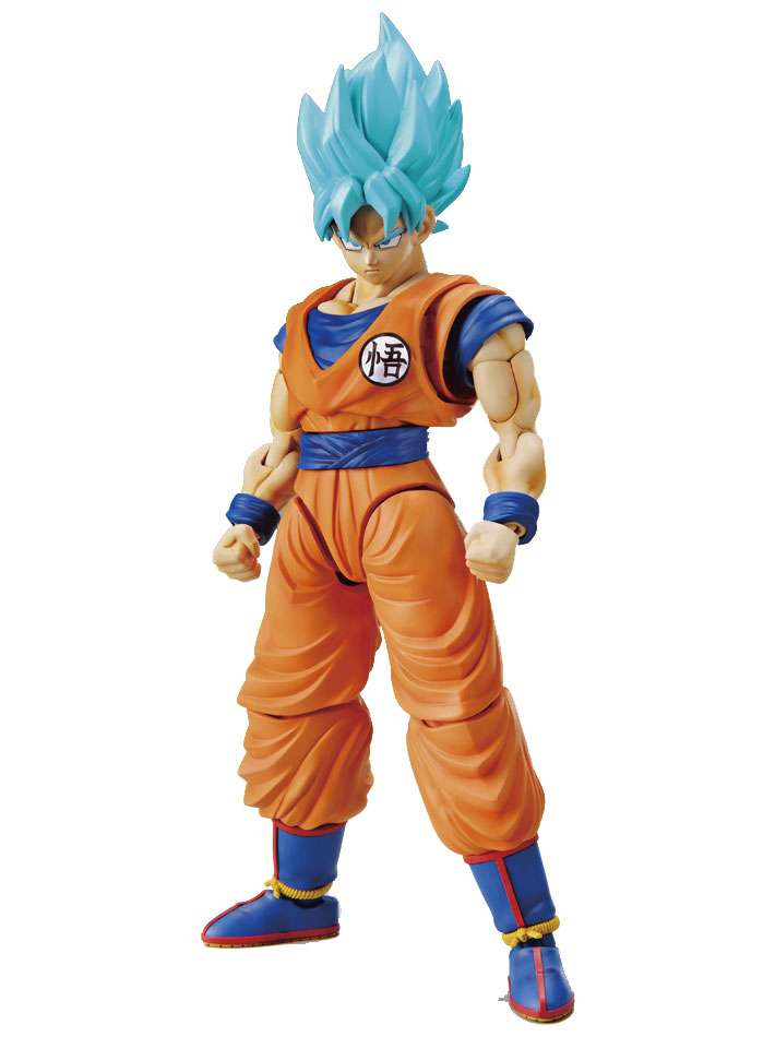 Figure Rise Standard Dragon Ball Super Saiyan God Super Saiyan Gogita Color-code