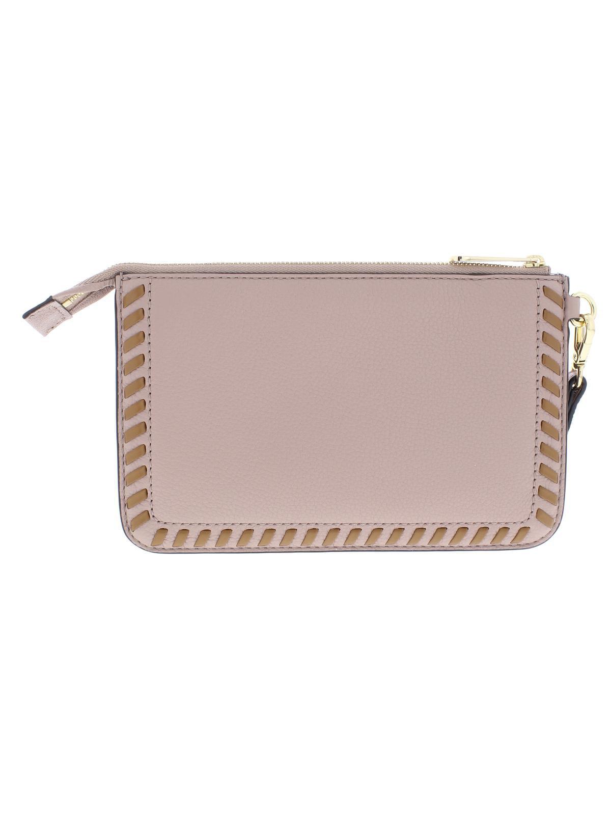 a02e24cc300963 MICHAEL Michael Kors - MICHAEL Michael Kors Womens Lauryn Leather Pouch  Wristlet Wallet - Walmart.com