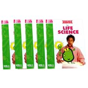 ETA hand2mind VersaTiles Life Science Grade 8 Activity Book, Set of 5