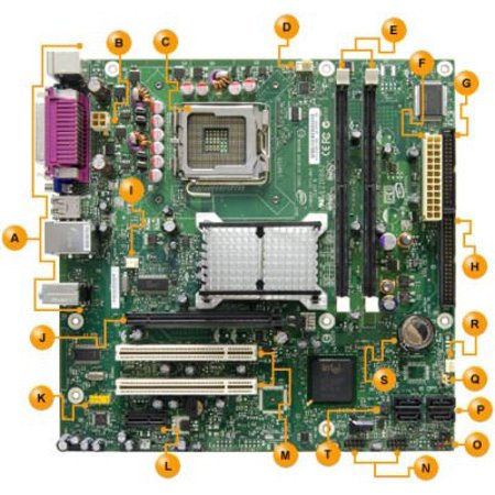 INTEL D945GCL Intel D945GCL Motherboard, Support Intel Core 2 Duo/ Pentium D/