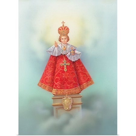 Great BIG Canvas | Rolled Poster Print entitled Infant Jesus dressed in papal - Jesus In Robe