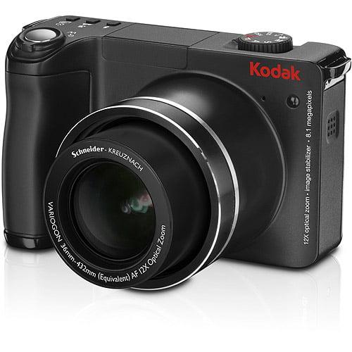"Kodak EasyShare ZD8612 Black ~ 8 MP Digital Camera, 12x Optical Zoom & 2.5"" LCD, HD Still Images"