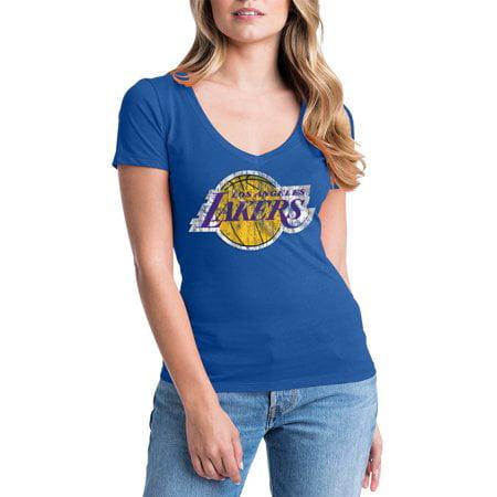 Los Angeles Lakers Womens NBA Short Sleeve Baby Jersey V-neck