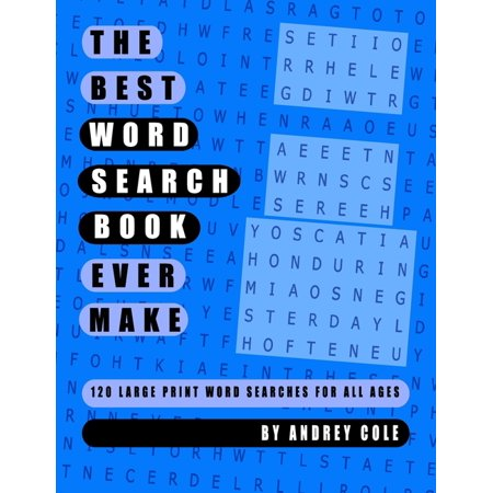 The Best Word Search Book Ever Make (Paperback)(Large (Make The Best Class Ever)