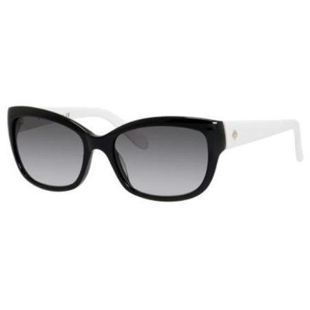 KATE SPADE Sunglasses JOHANNA/S 0807 Black Ivory (White Tortoise Sunglasses)