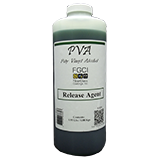 PVA PARTALL #10 GREEN LIQUID MOLD RELEASE AGENT - 1 Quart, PREMIUM PROFESSIONAL QUALITY, Diy Resin & Fiberglass Mold Release Wax Substitute Lubricant Film Release Agent For Molds, ()
