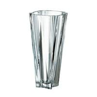 "(D) Bohemian Crystal ""Metropolitan"" Centerpiece Flower Vase 14""H"