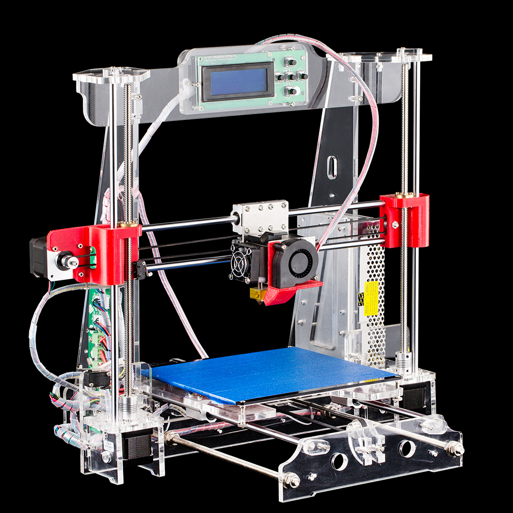 P802M Durable New 3D Systems Printer 12V 20A Output 240W LCD Screen Clear