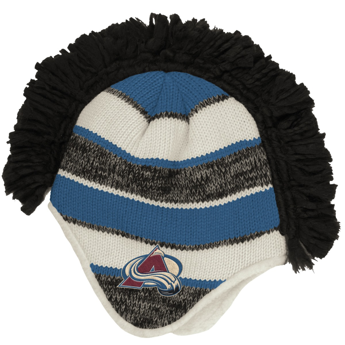 "Colorado Avalanche Reebok NHL 2015 ""Face-Off"" Spiked Mohawk Knit Hat by Reebok"