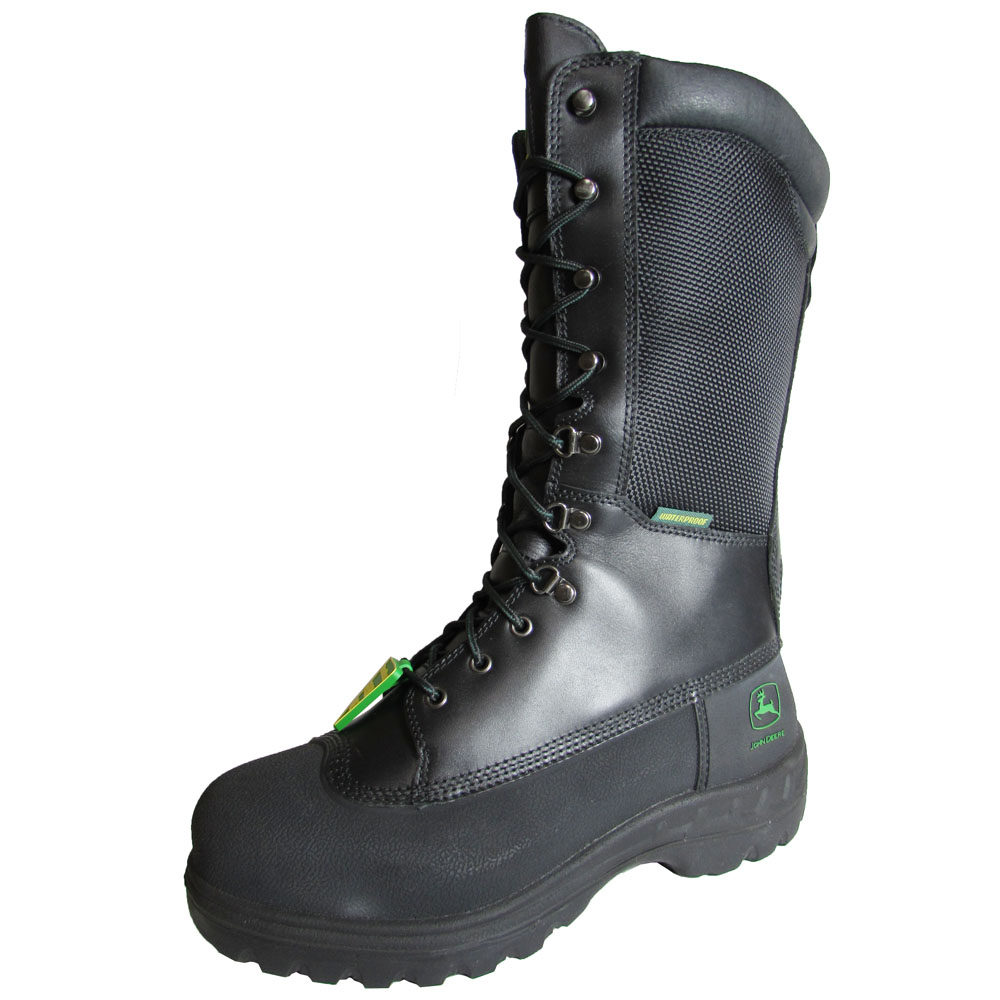 "John Deere Mens JD9620 12"" Steel Toe Miners Boot Shoe by John Deere"