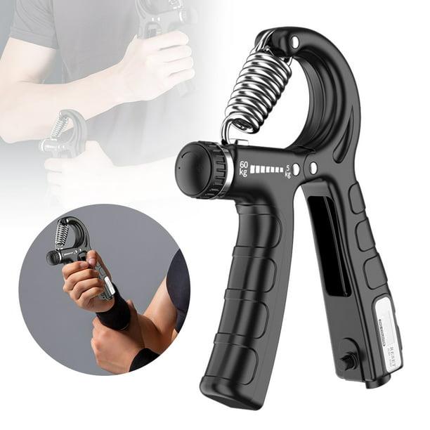 Hand Grip Strength Trainer Strengthener Gripper Exerciser Adjustable ResistanLO
