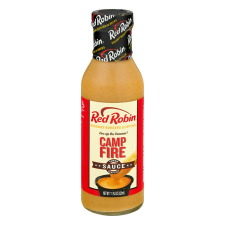 (2 Pack) Red Robin Camp Fire Sauce, 11.0 FL OZ (Best Red Robin Burger)