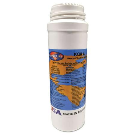 Filter Boost - Keurig Omnipure Filter Cartridge KQ8 for K150P, B3000SE, and Bolt -GMT5021