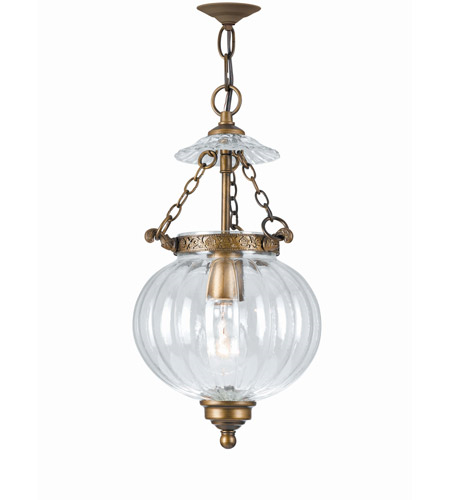 Pendants Porch 1 light With Brass Material Antique Brass Finish size 8 in 75 Watts - World of Lighting