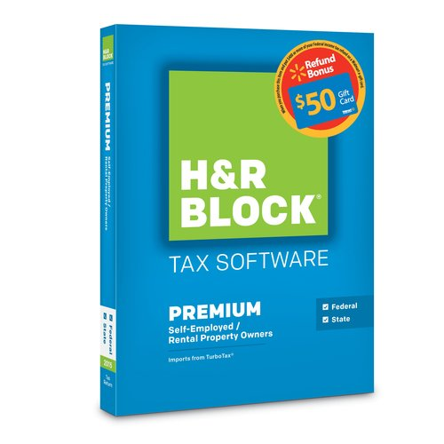 H&R Block Tax Software 15, Premium