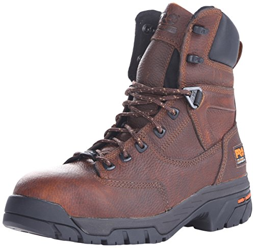 Timberland PRO Men's Helix 8 Inch Comp Toe Work Boot,Brown,9.5 W US by Timberland PRO