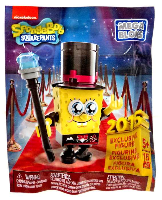 Mega Bloks Spongebob Squarepants Spongebob 2015 Exclusive Figure [Bagged] by