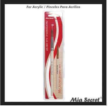 Mia Secret # 8 Duo Acrylic 2 Brush Set Nail Professional NB13 GLOBAL SHIP+ Free Temporary Body