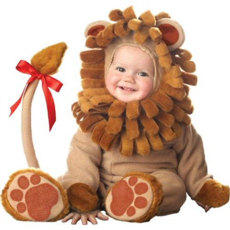 InCharacter Costumes Biy's Lil' Lion Costume, Brown, Medium (12-18 Months)