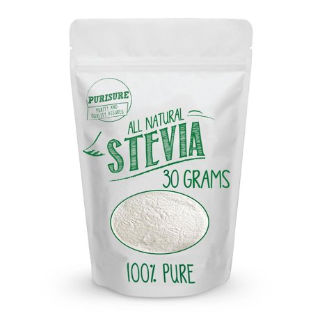 All Natural Stevia Powder 30g (203 Servings) | Highly Concentrated Pure Extract | No Fillers, Additives or Artificial Ingredients | Zero-Calorie Sweetener | Best Sugar Substitute 30