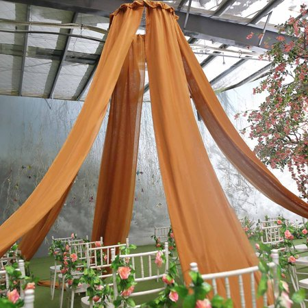 Wedding Ceiling Decorations (BalsaCircle 20 feet long Premium Sheer Voile Ceiling Draping Panel - Wedding Ceremony Party Home)
