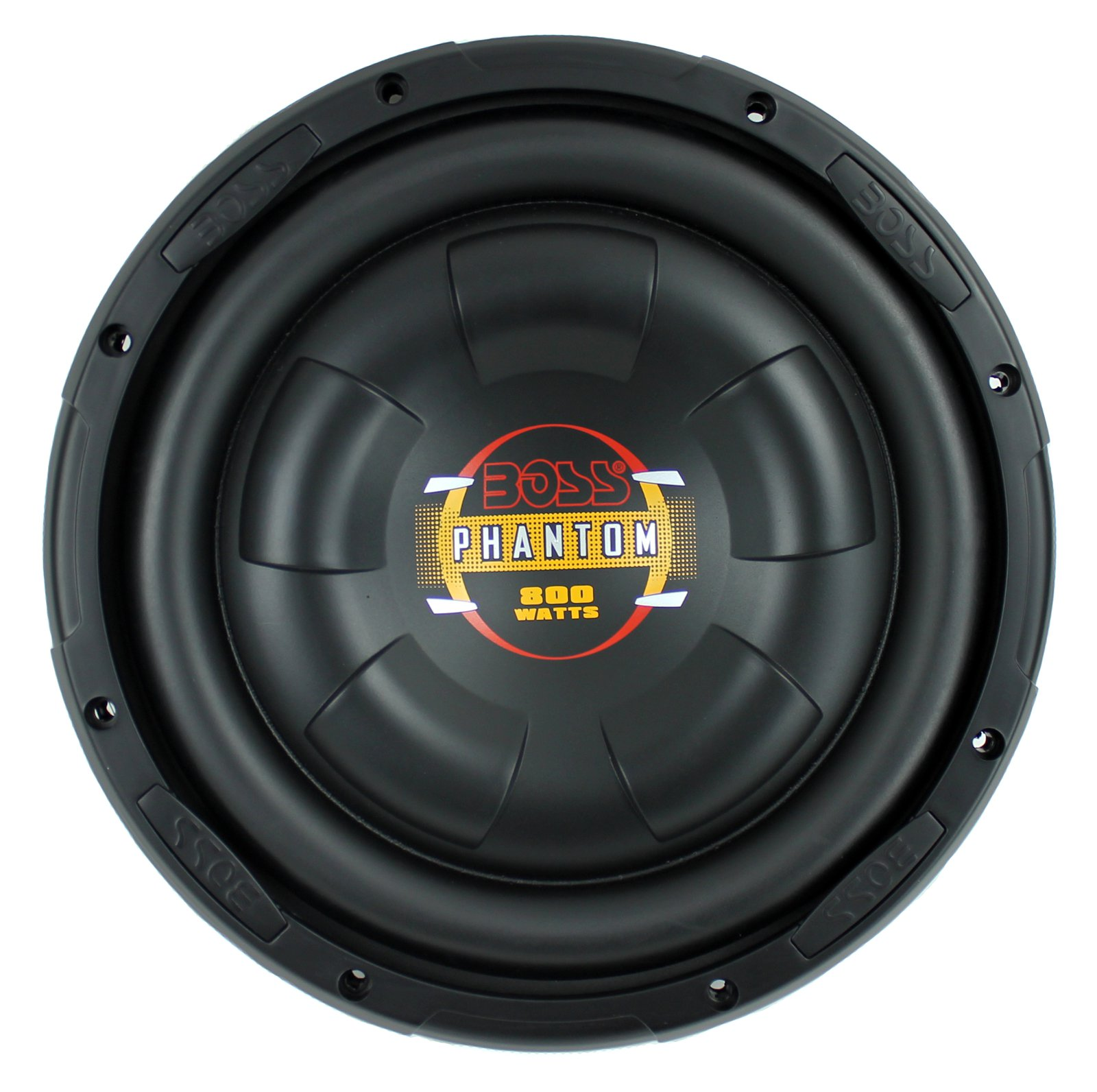 "Boss Audio 10"" Diablo Series Low Profile Subwoofer (One Subwoofer)"