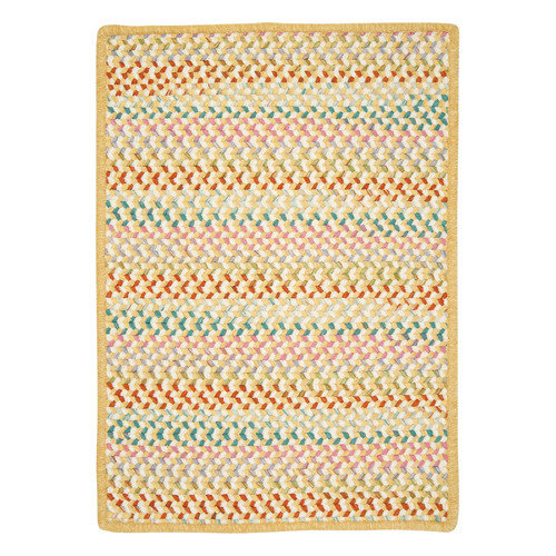 Colonial Mills Color Frenzy Yellow Go Bananas Area Rug