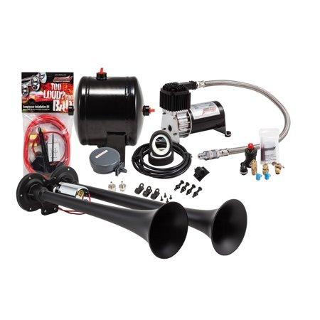 Kleinn Air Horns HK2-1 Pro Blaster Dual Air Horn Kit