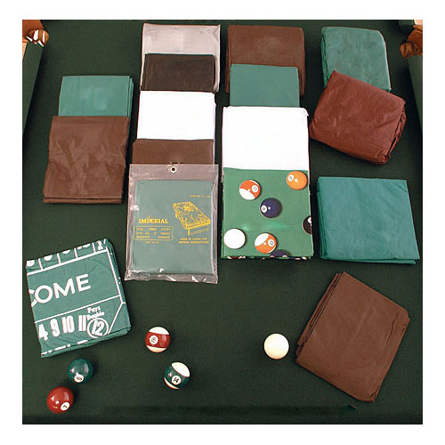 Naugahyde Fitted Pool Table Dust Cover - 8'