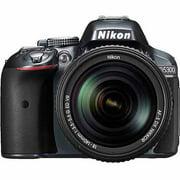 Nikon Grey D5300 DSLR Camera with 24.2 Megapixels, Body Only