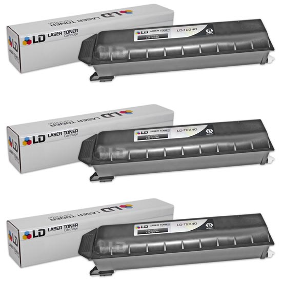 LD Toshiba Compatible T2340 Black Toner Cartridges by LD Products