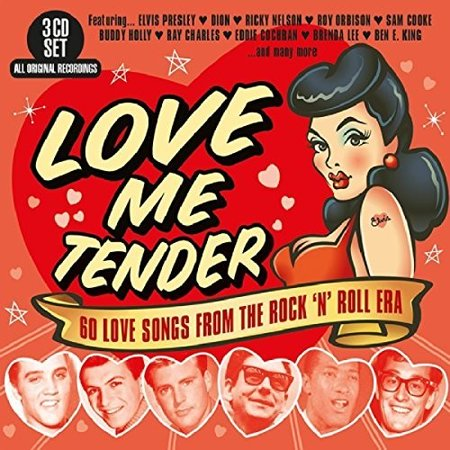 Love Me Tender: 60 Love Songs From The Rock N Roll Era / Various (CD)