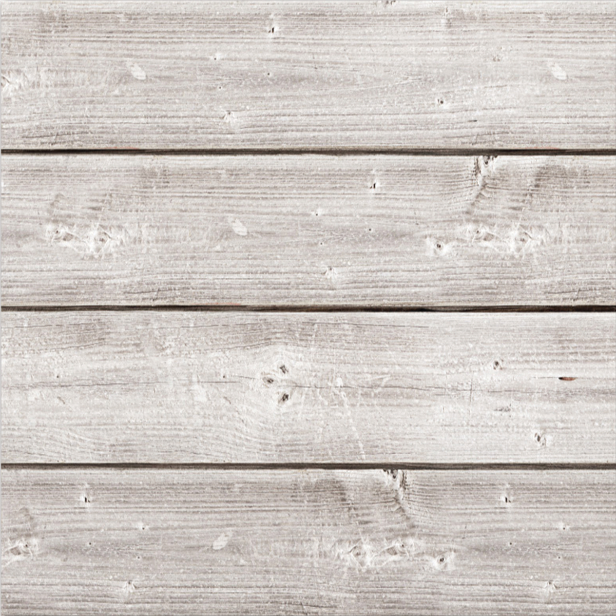 "Jillibean Soup Mix The Media Wooden Plank-12""X12"" Weathered White"
