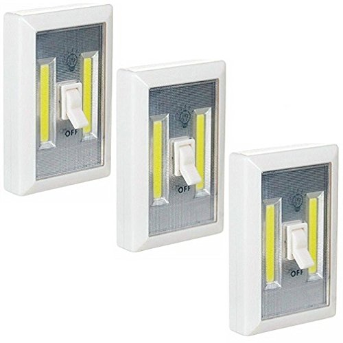Promier LED Wireless Light Switch, Under Cabinet, RV, Kitchen, Night Light, C...