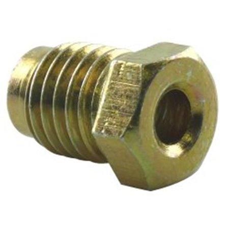 Bubble Flare Metric Brake Line Nut, 0.19 in. x 12 mm Bubble Flare Brake Line