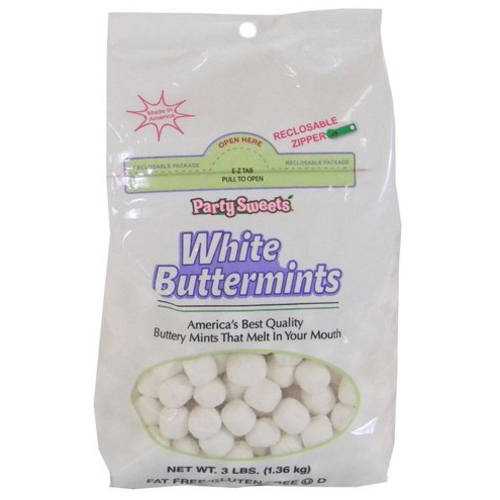 White Buttermints, 388 count, 3-Pounds