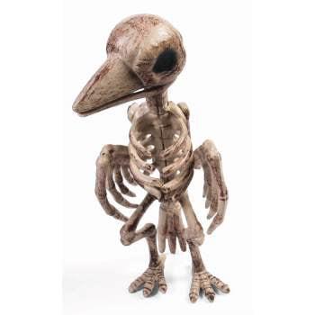 SKELETON RAVEN - Raven's Halloween Haven