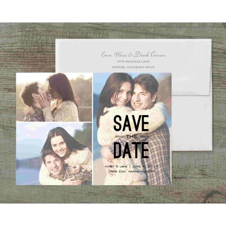 Wedding Save The Date Cards (Modish Deluxe Save the Date)