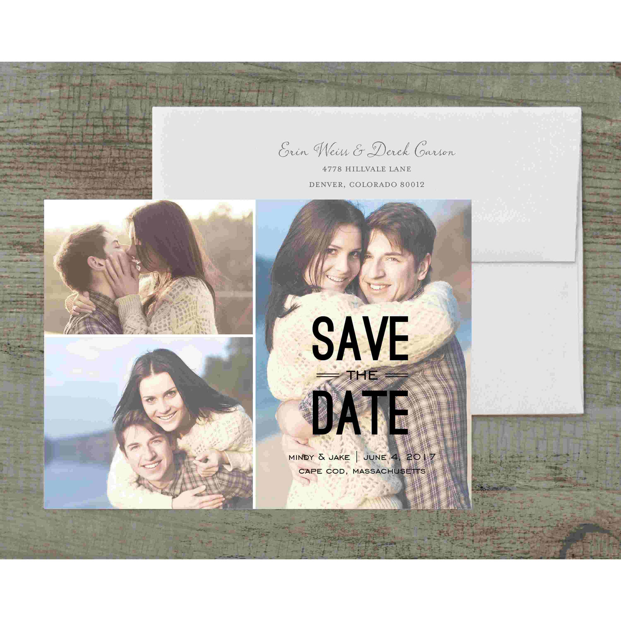 Modish Deluxe Save the Date