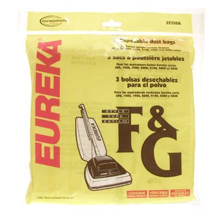Eureka Type F And G Disposable Dust Bag
