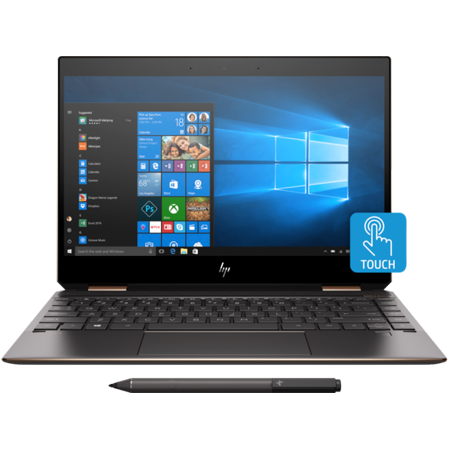 HP Spectre x360 - 13t Home and Business Laptop (Intel Core i7-8565U, 16GB RAM, 512GB PCIe SSD, 13.3