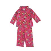 Disney Baby Girls Pink Sophia The First Crown Print 2 Pc Pajama Set