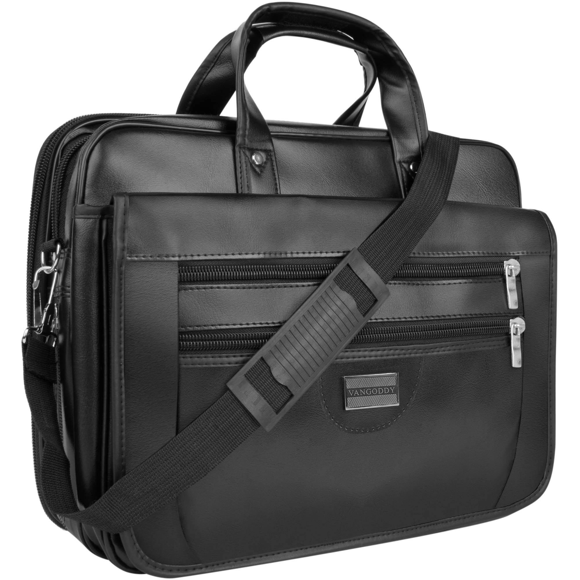 """Vangoddy Trogons Laptop Bag Professional Over the Shoulder Vegan Leather Laptop/Ultrabook Bag Case for Laptops/Ultrabooks up to 15.6"""""""