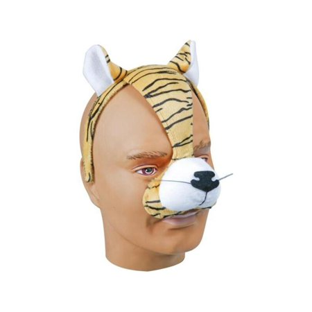 Adult Tiger Headband with Ears and Nose - Pig Ears And Nose Costume
