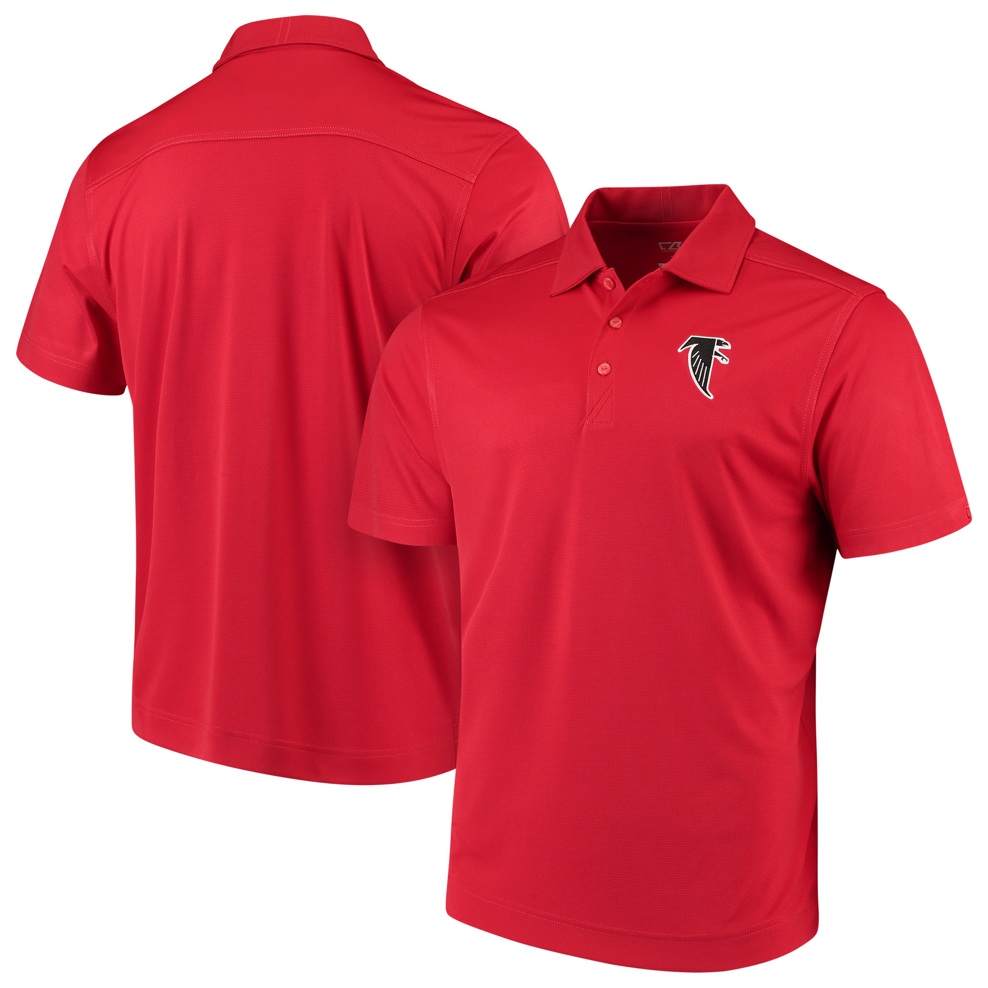 Atlanta Falcons Cutter & Buck Vintage DryTec Northgate Polo - Red