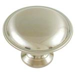 Ultra 41840 1-1/4-inch Designers Edge Round Satin Nickel  Cabinet Knob