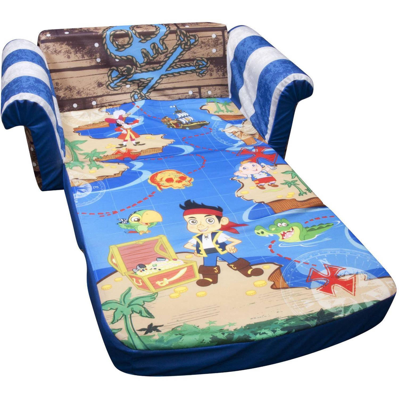 Marshmallow 2 In 1 Flip Open Sofa, Disney Jake And The Neverland Pirates    Walmart.com