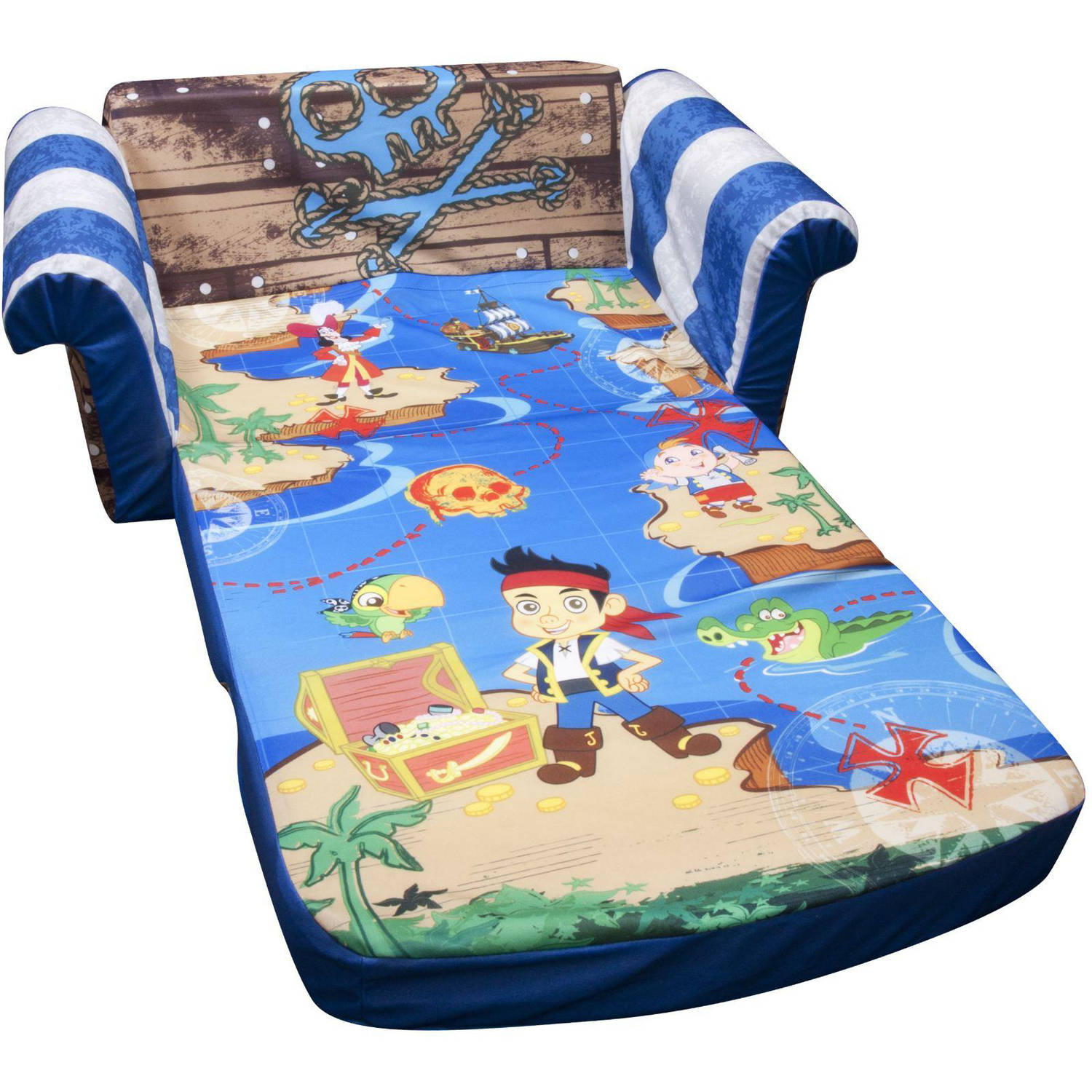 Marshmallow 2 In 1 Flip Open Sofa, Disney Jake And The Neverland Pirates