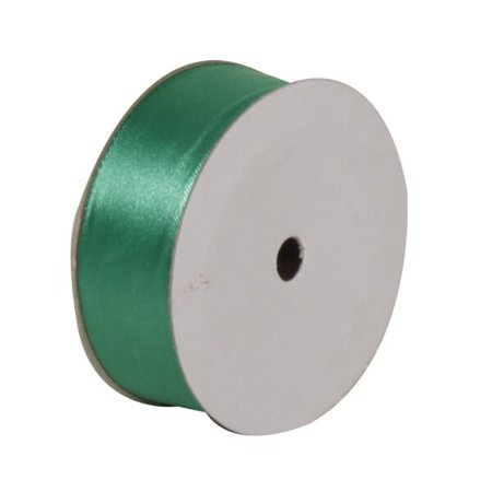 JAM Paper Satin Ribbon, 7/8 x 7 yards, Emerald Green, Sold Individually - Green Ribbon Tattoo