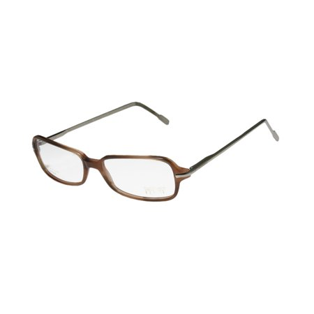 New Gianfranco Ferre 17202 Mens/Womens Designer Full-Rim Blonde Tortoise / Shiny Silver Gold Filled European Frame Demo Lenses 52-15-140